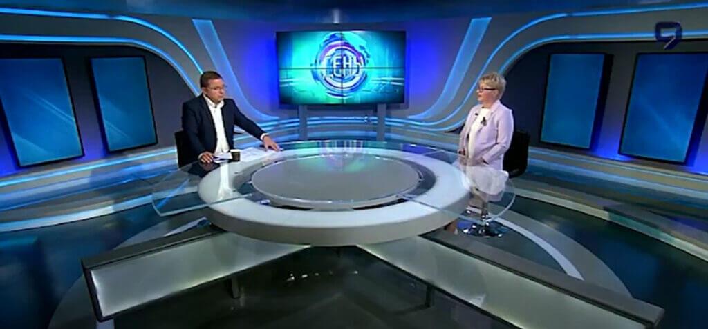 Адвокат Виктория Ройтман на 9 канале израильского телевидения